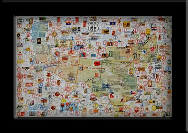 Route 66 PostmarkArt