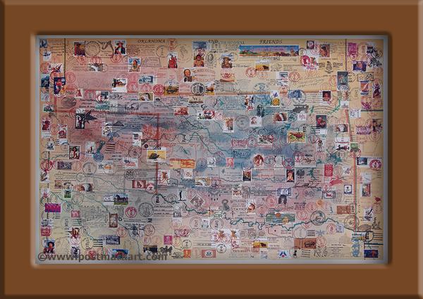 Oklahoma PostmarkArt