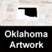 Oklahoma PostmarkArt