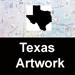 Texas PostmarkArt by Ken Turmel