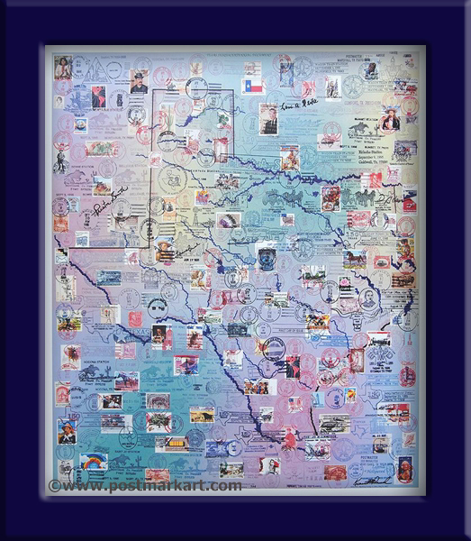 Texas PostmarkArt